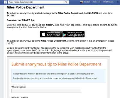 NilesFacebook